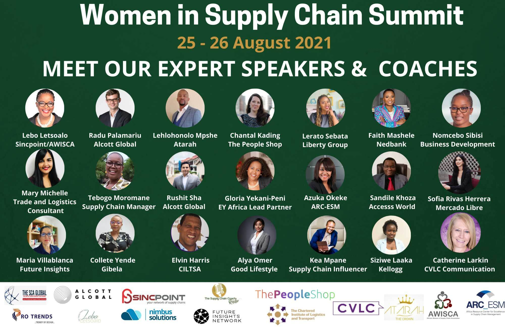 sincpoint supply chain summit speakers